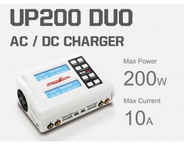 Ultra Power UP200 DUO 2X100W 10A AC/DC Charger