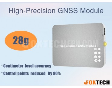High-Precision PPK and RTK GNSS Module