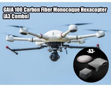 GAIA 100 Carbon Fiber Monocoque Hexacopter A3 Combo