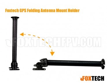 Foxtech GPS Folding Antenna Mount Holder