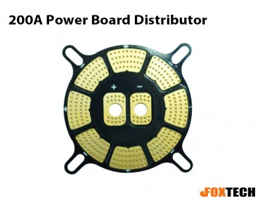 Foxtech 200A Power Board Distributor