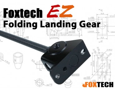Foxtech EZ Folding Landing Gear(1pc)