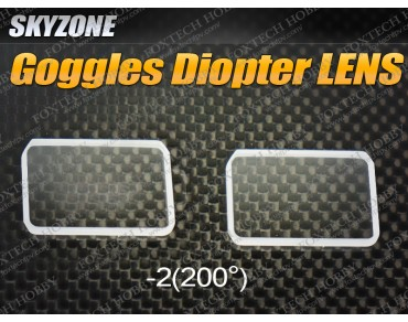 Goggles Diopter LENS-4 (200 Diopter)