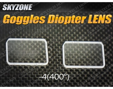 Goggles Diopter LENS-4 (400 Diopter)