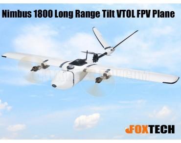 Nimbus 1800 Long Range Tilt VTOL FPV Plane-RC Range Upgrade