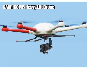 GAIA 160MP-Heavy Lift Drone NO FC Combo