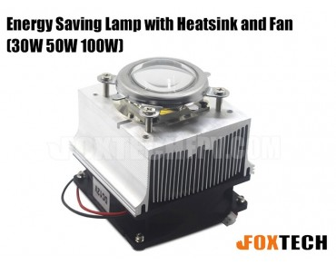 30W/50W/100W Energy Saving Lamp with Heatsink and Fan