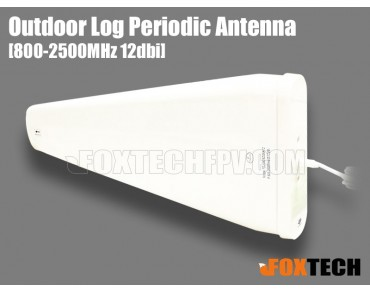 900M/2.4G Dual Band 12dbi Outdoor Log Periodic Antenna-SMA