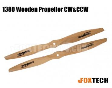 1380 Wooden Propeller CW&CCW