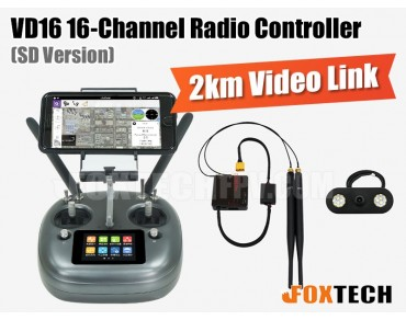 VD16 16-Channel Radio Controller(SD Version)
