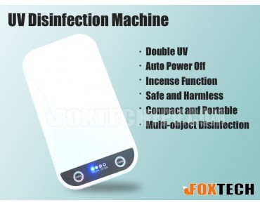 Portable UV Disinfection Machine for Masks Phones