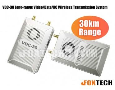 VDC-30 Long-range Video/Data/RC Wireless Transmission System