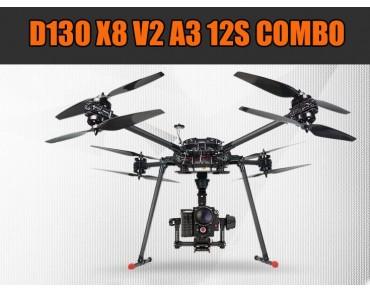 D130 X8 V2 A3 12S COMBO