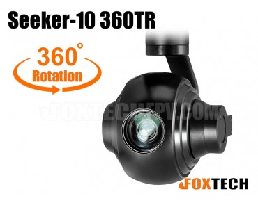 Seeker-10 360TR 10X Optical Zoom Camera with 360 Degrees Rotation 3-axis Gimbal