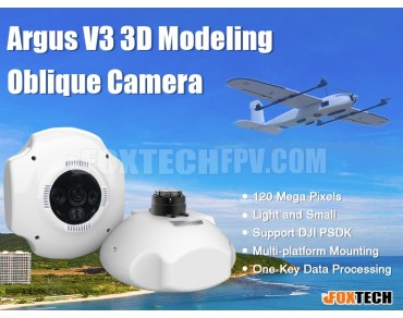 Argus V3 3D Modeling Oblique Camera