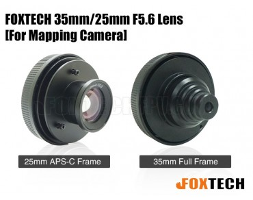 FOXTECH 35mm/25mm F5.6 Lens for Mapping Camera