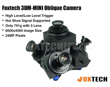Foxtech 3DM-MINI Oblique Camera
