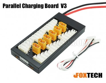 Paraboard V3 Parallel Charging Board for Lipos with XT60 Connector