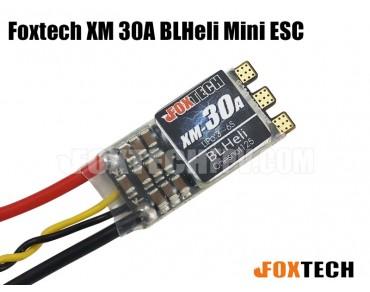 Foxtech XM 30A BLHeli Mini ESC