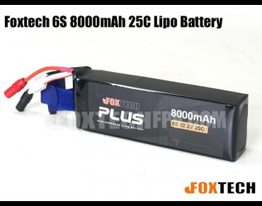 Foxtech 6S 8000mAh Lipo Battery