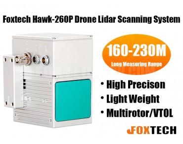 Foxtech Hawk-260P Drone Lidar Scanning System