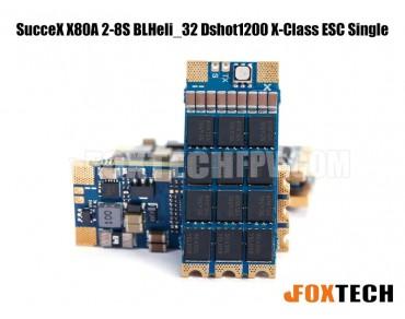 SucceX X80A 2-8S BLHeli_32 Dshot1200 X-Class ESC Single
