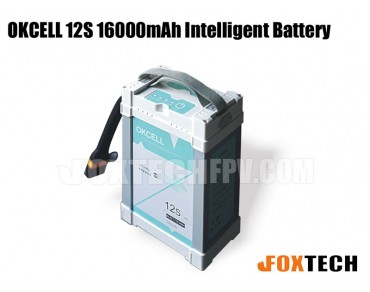 OKCELL 12S 16000mAh Intelligent Battery for Drone