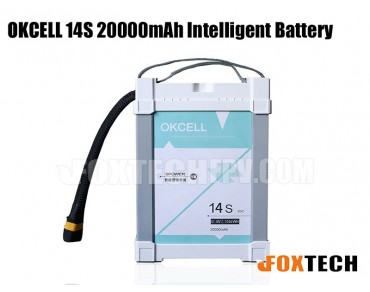 OKCELL 14S 20000mAh Intelligent Battery for Drone