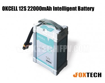 OKCELL 12S 22000mAh  Intelligent Lipo Battery for Drone