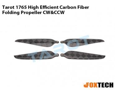 Tarot 1765 Carbon Fiber Folding Propeller CW/CCW(TL2948)