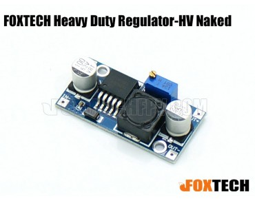 FOXTECH Heavy Duty Regulator-HV Naked