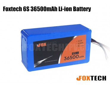 Foxtech 22.2V 6S 36500mAh Li-ion Battery