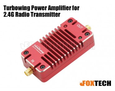 Turbowing Power Amplifier for 2.4G Radio Transmitter