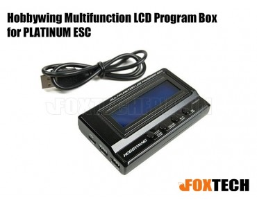 Hobbywing Multifunction LCD Program Box for PLATINUM ESC