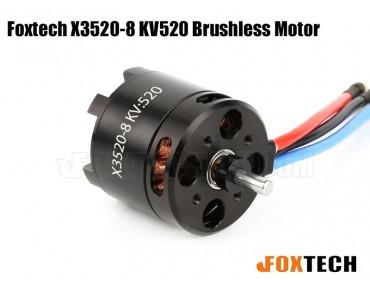 Foxtech X3520-8 KV520 Brushless Motor