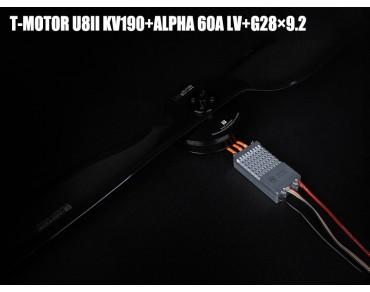 T-MOTOR U8II KV190+ALPHA 60A LV+G28x9.2