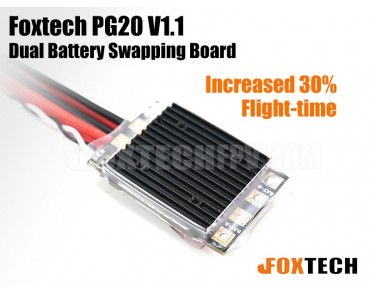 Foxtech PG20 V1.1 Dual Battery Swapping Board