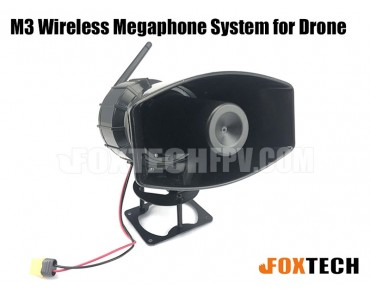 M3 Wireless Megaphone System for Drone