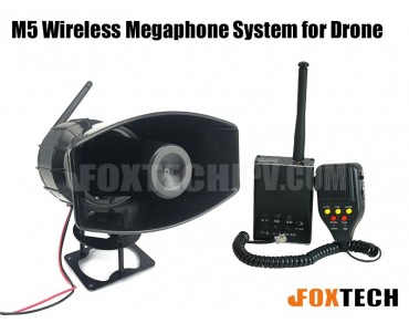 M5 Wireless Megaphone System for Drone