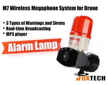 M7 Wireless Megaphone System for Drone