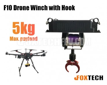 F10 Drone Winch with Hook