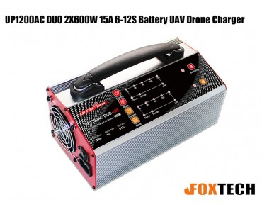Ultra Power UP1200AC DUO 2X600W 15A 6-12S Battery UAV Drone Charger