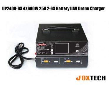 Ultra Power UP2400-6S 4X600W 25A 2-6S Battery UAV Drone Charger