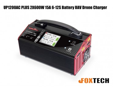 Ultra Power UP1200AC PLUS 2X600W 15A 6-12S Battery UAV Drone Charger