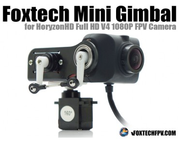 Foxtech Mini Gimbal for HoryzonHD V4 FPV Camera