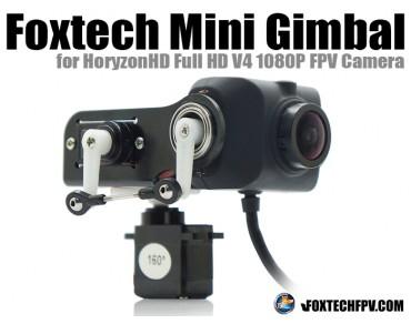 Foxtech Mini Gimbal for HoryzonHD V4 FPV Camera
