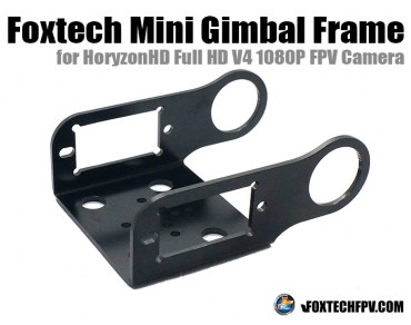 Foxtech Mini Gimbal Frame for HoryzonHD V4 FPV Camera