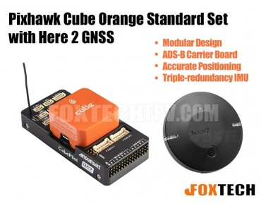 Pixhawk Cube Orange Standard Set with Here 2 GNSS