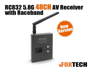 5.8G 48CH FPV  Wireless AV Receiver(RC832)