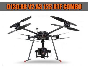 D130 X8 V2 A3 12S RTF COMBO